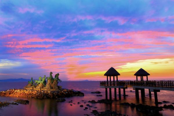 牟平区养马岛礁石滩公园 (19)