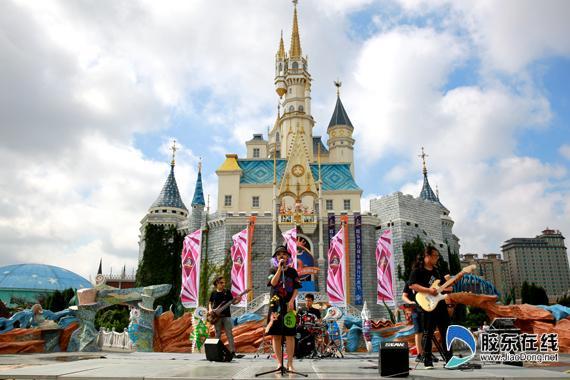 蓬莱欧乐堡梦幻世界五周年庆暨流行艺术节盛大启幕
