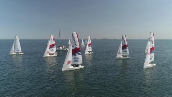 2018烟台帆船公开赛168