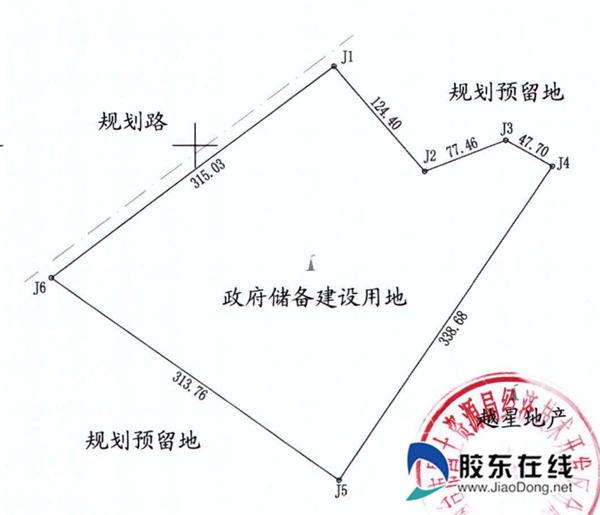开发区a-10小区勘测定界图