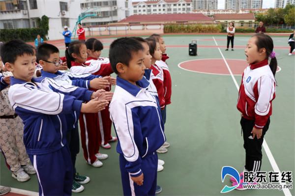 宁海中心小学举行队列会操比赛