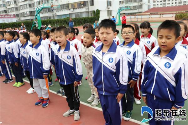 宁海中心小学举行队列会操比赛1