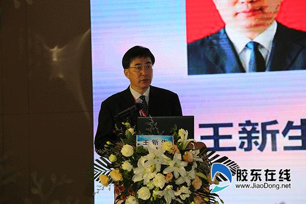 5、青岛大学医疗集团总院长王新生致辞