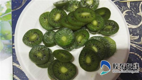 软枣猕猴桃亮相果蔬会