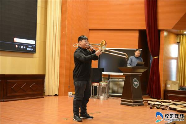 烟台三中科技艺术节之高雅音乐进校园