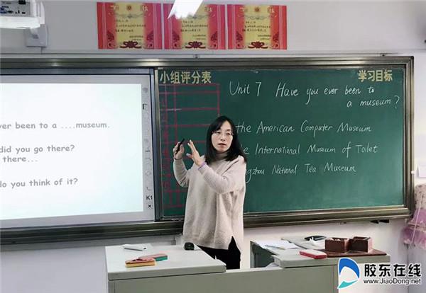 """东方外国语初中部开展""""人人过关课""""活动"""