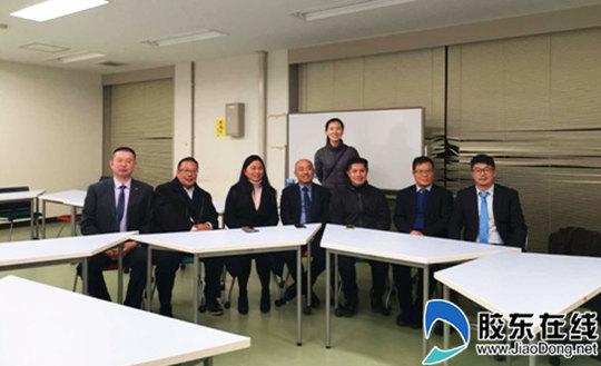 在金泽大学法学院与大友教授、舒子娟博士等学者座谈_副本