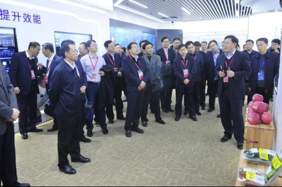 山东省数据大厅汇报交流展示,《烟台苹果追溯平台――让人民吃得放心》入选30