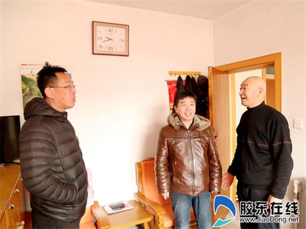 长岛县第一实验学校走访老党员活动2