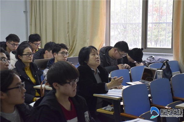 """鲁东大学举办第十六届""""挑战杯""""竞赛冬令营2"""