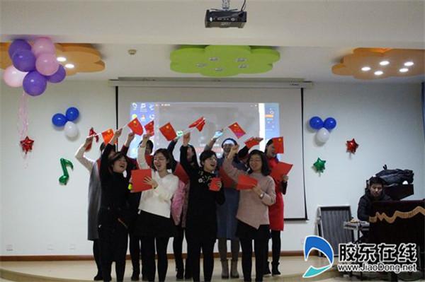 莱山区实验幼儿园红歌传唱活动2
