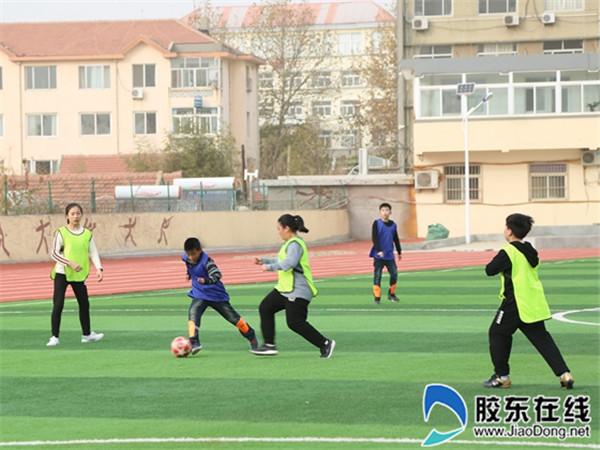 """长岛一校第三届""""校长杯""""足球联赛正式开踢1"""