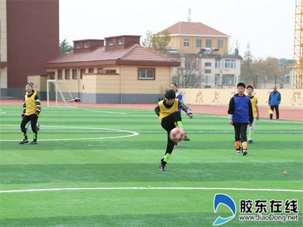 """长岛一校第三届""""校长杯""""足球联赛正式开踢2"""