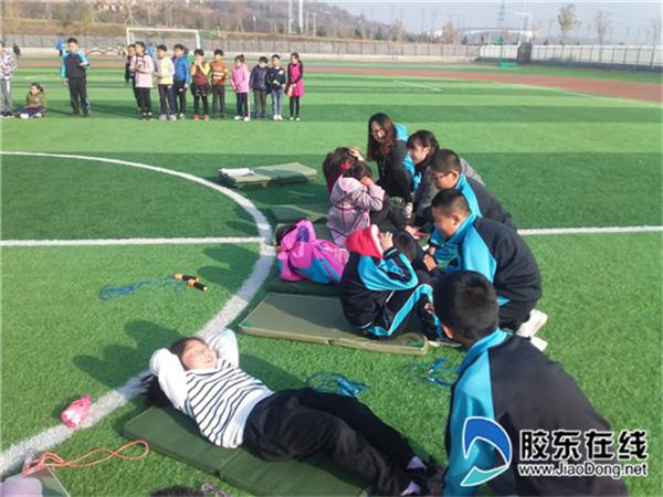 兜余中心小学举行体质健康达标运动会1
