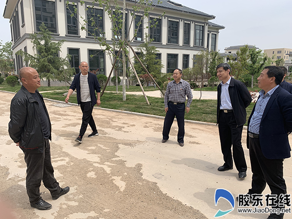 烟台市卫健委领导调研莱阳市妇幼卫生工作2