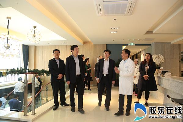 烟台市卫健委到烟台高新区调研医疗健康产业2