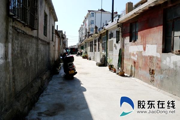 金水街小区拆后街巷
