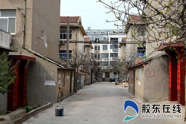 麒麟小区拆前街巷