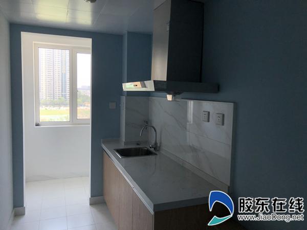 烟台龙湖冠寓,配套厨房满足家庭租住需求
