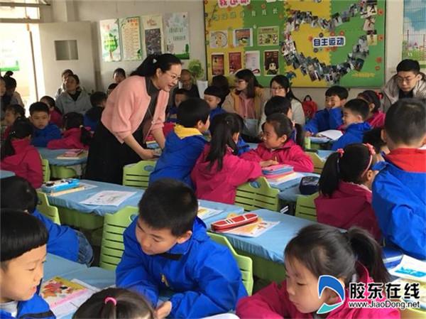 黄海路小学举行全区小学语文教学研讨活动