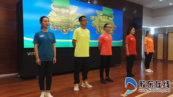 参赛选手和志愿者服装发布