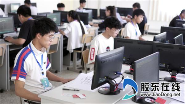 烟台城乡建设学校承办市职业学校技能大赛2