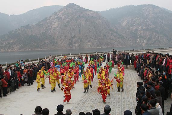 55海洋大秧歌的节庆广场演出
