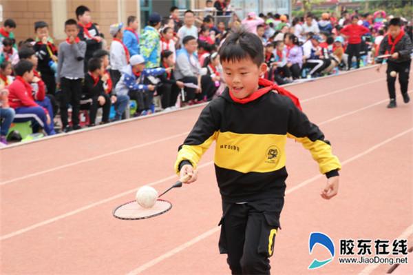 宁小举行第五届校园体育节暨阳光运动会1