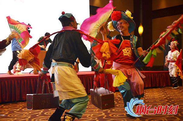 海阳大秧歌亮相中国民间文化艺术之乡分享活动