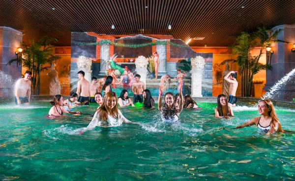 古罗马艺术养生温泉