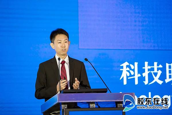 山东正心医疗科技公司创始人赵卫博士出席会议并发表主题演讲
