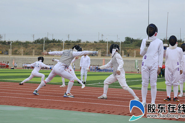 烟台三中举行第十一届体育文化节3