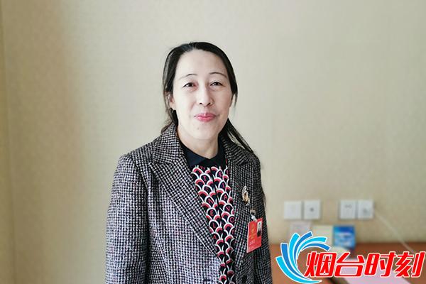 蓬莱市人民医院内五科主任迟志波代表