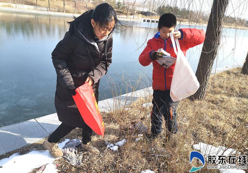 莱山区农业农村局组织芝罘中学志愿者开展公益活动
