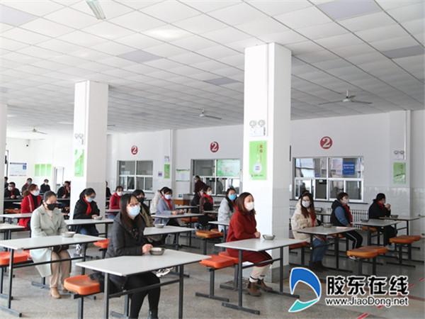 长岛第一实验学校开展疫情防控应急演练活动2