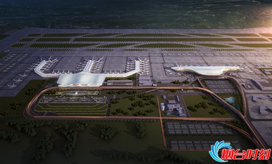 机场二期扩建工程效果图_副本
