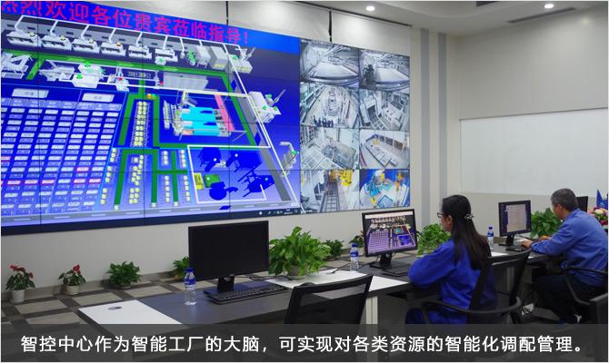 05-智控中心作為智能工廠的大腦,可實現對各類資源的智能化調配管理