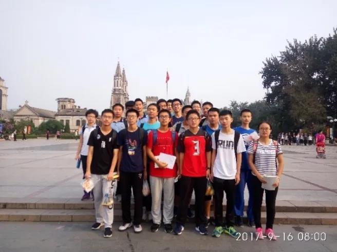 2017.9.16,在济南参加第34届全国中学生物理竞赛合影