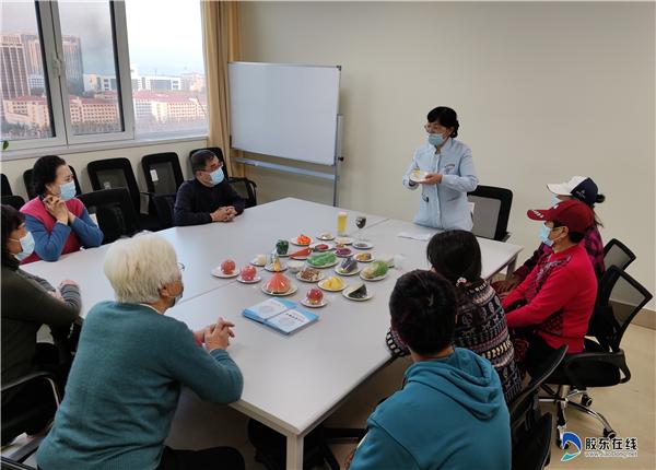 烟台山病院东院区内分泌与代谢病科病房示教室控糖宣教