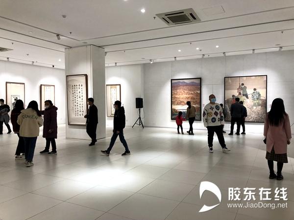 烟台美术博物馆展出受到公众欢迎