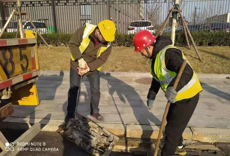 天富官网测速地址坚持对标提标,市城管局排水服务中心持续提升排水设施管养水平